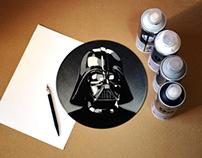 Darth Vader On Vinyl