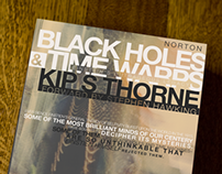 Black Holes & Time Warp cover re-design
