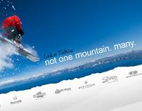 Ski Lake Tahoe Branding + Interactive Campaign