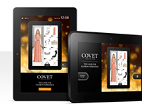 Covet Fashion App Kindle Wakescreen Ad