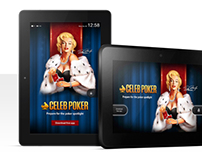 Celeb Poker Kindle Wakescreen Ap
