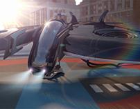 3D Stingray aircraft