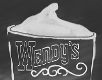 Wendy's Poster Ad.