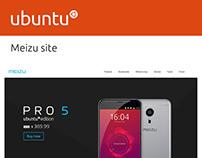 Ubuntu Greeter and Scopes design Meizu overview