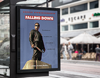Movie Poster | Falling Down starring Arnold