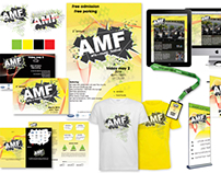 Arts and Music festival promotional design
