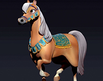 ZBrush: Horse Maquette, Castle of Rosette
