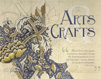 Design History Poster: Arts & Crafts Movement