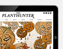 Planthunter digital magazine - illustration