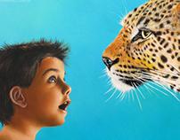 """""""Niño y Leopardo"""""""