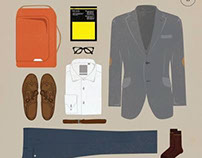 Benjamin Barker Style outfit sets