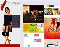 Visualspate.com Web Design in Wordpress
