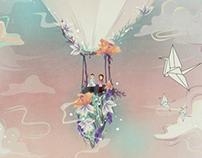 Skymarines gig poster