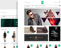PSD Template - Royal E-Commerce