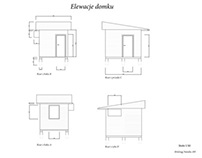 design a small house - elevations