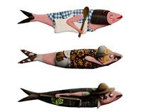 Sardines ! illustration