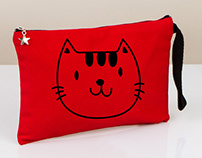Kırmızı Clutch El Çantası - Red Clutch Handbag