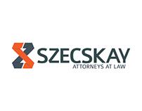 Szecskay Attorneys At Law - logo/branding drafts