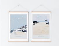 Beach hotel merchandise