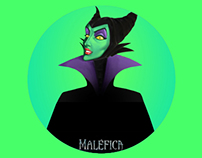 Maleficient illustration / Ilustración Maléfica