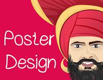 Bhangra Poster Design