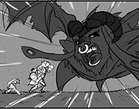 EXPerience storyboard animatic