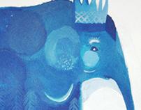 Azules. Elefanta