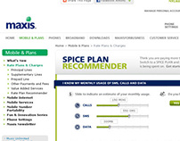 Maxis Plan Recommender