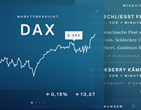 Stock Market App Concept 2013