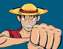 The very annoying Luffy