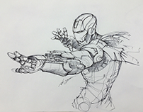 Ironman rough sketch