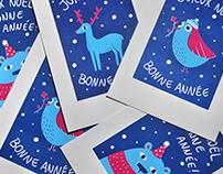 Greeting Cards — Screen Printing