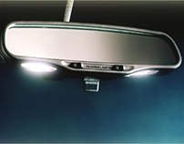 Automotive Mirror with Integrated Lighting
