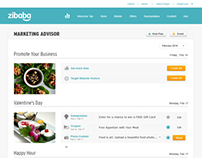 Zibaba Planning Screens