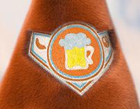 3D Bavarian Plush Beer