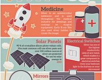 Retro Silver Infographic