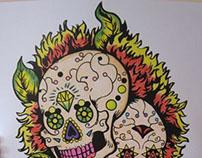 Human Race Original work/color pencils - 2013