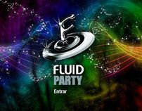 Fluid Party website