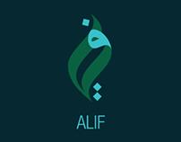 Alif branding