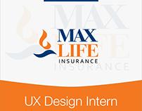Max Life Insurance : UX Internship