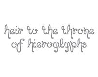 Typeface Generation