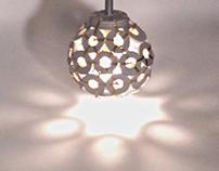 Multiple Cast Pendant Lamp