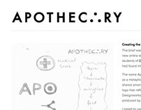 Apothecary Logo Design