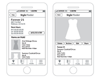 Mobile, Web   Style Finder