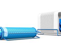 Duet: Portable indoor speakers