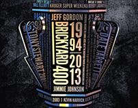 2013 Brickyard 400 Program Cover