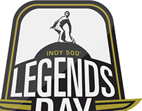 2014 Indy 500 Legends Day Logo