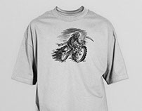 LImited Edition Tee Shirt // Death By-cycle