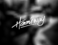 Harm's Way Lettering