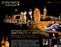 Johnnie Walker Great Britain Circuit Lounge FB App